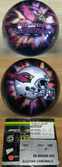 Accessories 50812: 15Lb Nfl Arizona Cardinals Bowling Viz-A-Ball -> BUY IT NOW ONLY: $109.99 on eBay!