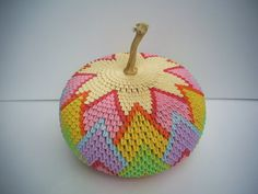 sandylandya@outlook.es 3D Origami - Rainbow Pumpkin