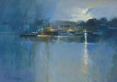 View all art currently available by Peter Wileman FROI RSMA FRSA at Lime Tree Gallery in Bristol and Long Melford, Suffolk. Peter Wileman, First Art, Urban Landscape, Beautiful Paintings, All Art, Lovers Art, Amazing Art, Concept Art, Art Photography