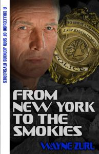 From New York to the Smokies is comprised of five mysteries spanning more than four decades in the life of career police officer Sam Jenkins.