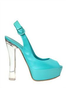 CASADEI - 140MM PATENT GLOSSY OPEN TOE SANDALS