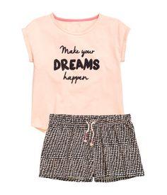 Pyjamas with shorts | Kids | H&M AU