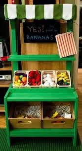 kids wooden market stall - Google Search