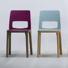 Fab colourful dining chairs