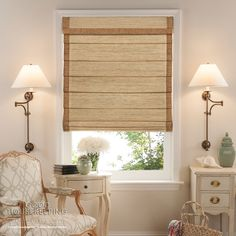Give your home a designer look without breaking your bank with the Custom Good Housekeeping Cordless Woven Wood Shades from SelectBlinds.com.