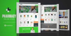 Download and review of Pharmacy WooCommerce WordPress Responsive Theme, one of the best Themeforest eCommerces themes