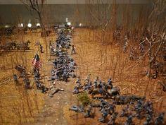 Battle of Shiloh diorama