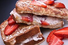 ... French Toast on Pinterest | Banana bread french toast, Stuffed french