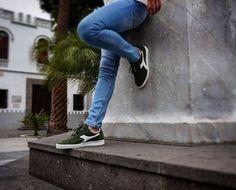 Diadora B. Original Olive #RetroTenis #Sneakers  disponible en el link de la bio