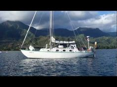 A singlehanded sailing voyage from British Columbia to Hawaii, with a few mishaps along the way. The boat is a Spencer 35 MK II. The voyage was over 2400 nau. Ocean Sailing, Ocean Waves, Sailing Ships, Sailing Yachts, Uss Constitution, Hms Victory, Viking Ship, Sail Away, Small Boats