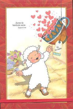 Resultado de imagen para ovejit,oveas cristianas con mensajes biblicos