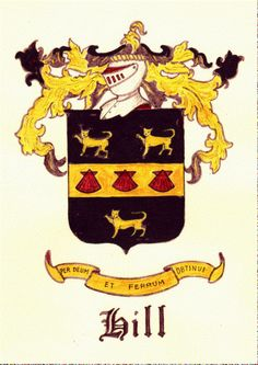Hill Coat of Arms