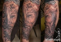 Swedish Viking Tattoo On Arm: Real Photo Pictures Images and ...