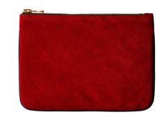 Balmain x H&M pouch, $34.99. Photo: H&M.