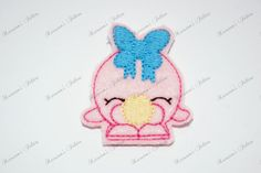 UNCUT Shopkins Bubble  embroidered felt by Keirstensfelties