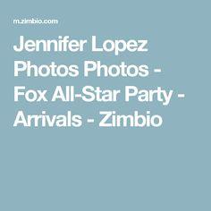 Jennifer Lopez Photos Photos - Fox All-Star Party - Arrivals - Zimbio