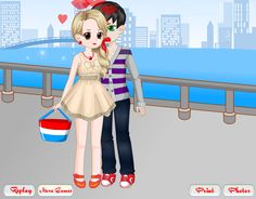 First Kissing Time - Kissing Dress up Games - Free Girl Games, Games For Girls, Kissing Games, Going On A Date, Up Game, Fun, Kids, Dress, Fictional Characters