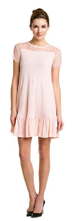 Valentino Pink Lace Ruffle Dress  http://rstyle.me/n/egcyjpdpe