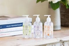 Must-have! Honest Hand Sanitizer Gel with soothing botanicals to prevent drying and chapping.
