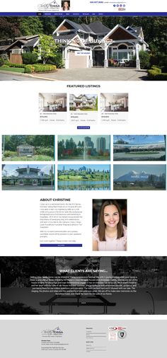 New website for Tri-City and surrounding areas Realtor Christine Tossa. Uses the Ubertor CMS. Responsive and mobile ready. Tri Cities, Website Designs, Search Engine, Custom Design, City, Site Design, Website Layout, Cities, Web Design