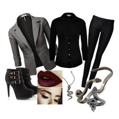 """""""Rocker Office Outfit"""" by xxinsaniamxx on Polyvore"""
