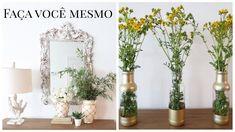 Vasos macrame - reaproveitando vidros de conserva - vasos pra flores - do lixo ao luxo - Diy - YouTube