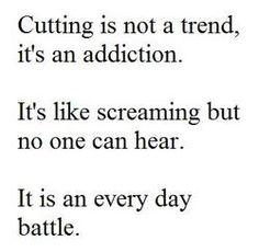 life depressed depression suicidal suicide Personal self harm trend cut cutting cuts addiction self harming
