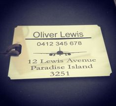 Luggage Tag, Travel accessories, personalised luggage tag, suitcase, bag labels,