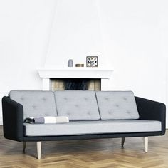 No. 1 3-Seater by Børge Mogensen - the first sofa he ever designed for Fredericia Furniture 1955.