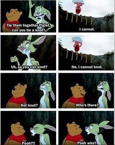 Poor Rabbit, nobody understands.