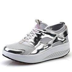 Womens Fashion Sneakers Breathable Lace on Sport Shoes For Studentes By Btrada * See this great product.(This is an Amazon affiliate link)