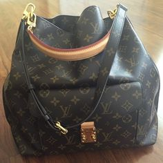 5c528b5dda53 Spotted while shopping on Poshmark  Flash sale💃🏽Auth Louis Vuitton Metis  hobo preown