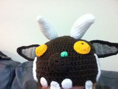 Gruffalo hat, my own design aka made up as I go along!
