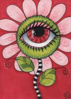 Indie Drawings, Psychedelic Drawings, Art Drawings, Hippie Painting, Trippy Painting, Hippie Drawing, Arte Indie, Indie Art, Small Canvas Art