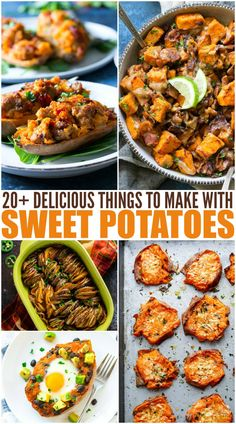 Easy Sweet Potato Recipes Healthy Meals For Two, Quick Easy Meals, Healthy Recipes, Yummy Recipes, Yummy Food, Side Recipes, Easy Dinner Recipes, Family Fresh Meals, Potato Dishes