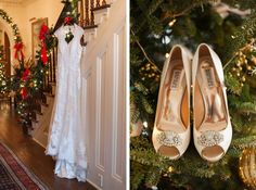 great photo idea for a Christmas wedding - by A. J. Dunlap Photography