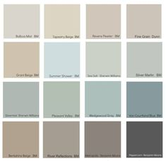 The New Neutrals (Benjamin Moore) ! Tips Ideas on the new neutral decorating colors for today! by rachelle