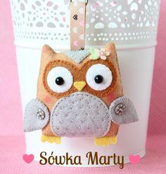 Barbara Handmade...: Marta`s owl / Sówka Marty :)