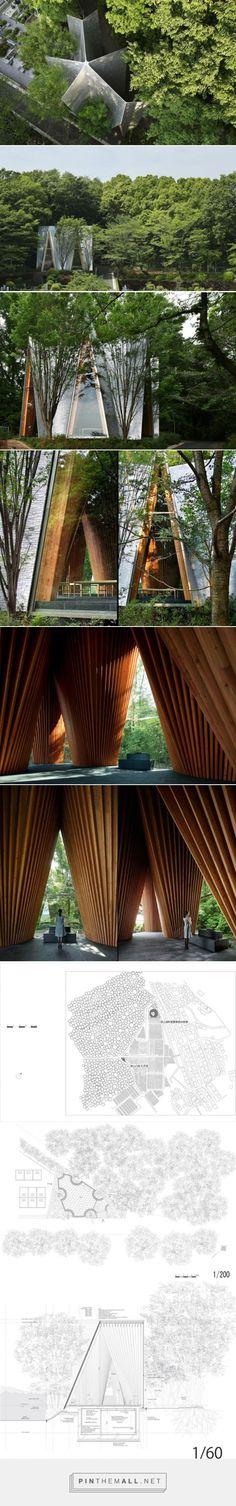 Sayama Forest Chapel / Hiroshi Nakamura & NAP ⋆ ArchEyes - created via…