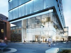 HENN Wins Architectural Competition for Glazed Software Factory