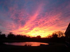 God's handiwork is seen in this picture. From Clay Crossings 400+acres.
