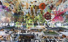 Rotterdam conta com um novo ícone: o Markthal Rotterdam. Em um lugar histórico junto ao Binnenrotte, muito próximo da estação Blaak e do maior mercado ao ar livre do país, foi construído o maior mercado coberto da Holanda. Este projeto consta de um enorme espaço fechado no nível da rua, rodeado por um edifício residencial em forma de arco. Sua forma, seu interior colorido e sua altura tornam o Markthal um grande espetáculo.