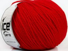 Pure Wool Red - FREE SHIPPING !!!
