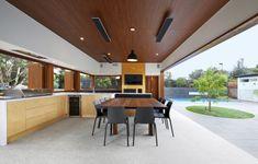 Kitchen open to Private Courtyard. Melbourne, Australia (940 x 600) - Imgur