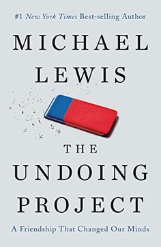 """""""When they made decisions, people did not seek to maximize utility. They sought to minimize regret."""" ― Michael Lewis, The Undoing Project: A Friendship that Changed the World"""