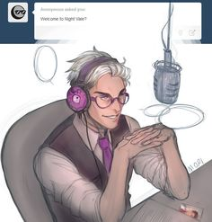Cecil - Welcome to Night Vale This is OFFICIALLY my fav picture of Cecil.