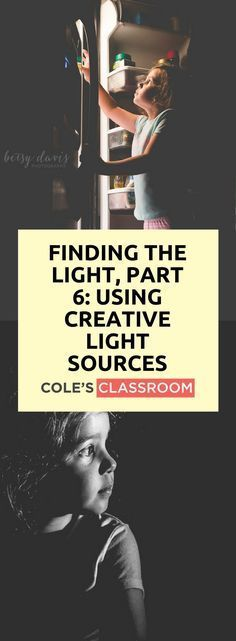 PHOTOGRAPHY TIPS & TECHNIQUE: Finding the Light, Part 6: Using Creative Light Sources. Find out more at: www.colesclassroo... #photographylightingtips