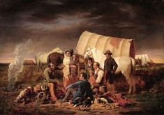 Pioneer talking around the camp fire.website for the Oregon Trail history. Lots of journal entries. Pioneer Trek, Pioneer Day, Pioneer Foods, Pioneer Life, American Story, American Art, Early American, Native American, American Women