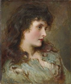 George Elgar Hicks - Maud Muller