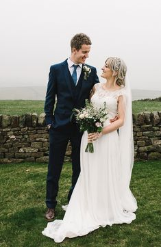 Yorkshire and Lancashire Wedding Photographer. I shoot weddings for the madly in love, who love to laugh out loud. Lancashire Wedding Photographer, Groom, Wedding Photography, Bride, Portrait, Wedding Dresses, Fashion, Wedding Bride, Bride Dresses